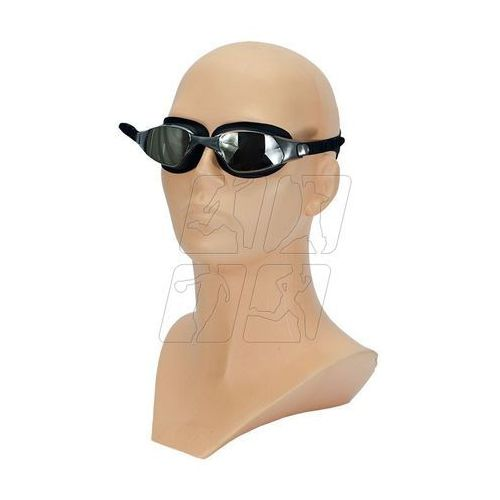 Okularki pływackie champion czarne Allright