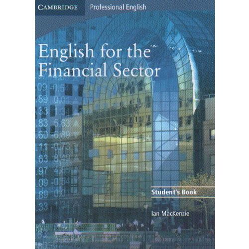 English for the Financial Sector Student's Book (podręcznik), Ian Mackenzie