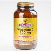 Pastylki SOLGAR Witamina C smak żurawinowo-malinowy pastyl.do ssania 0,5 g 90 pastyl.