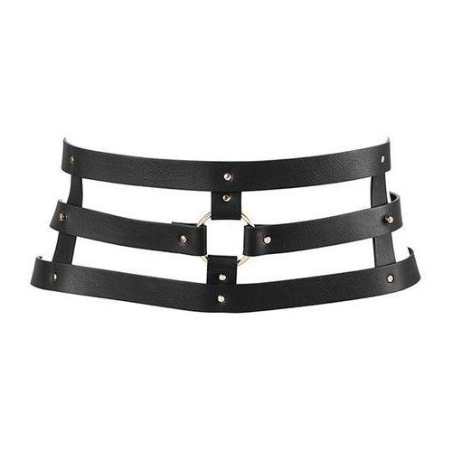 Bijoux indiscrets Pas skórzany - maze wide belt black