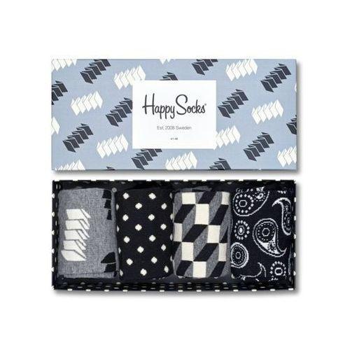 Happy socks Skarpetki giftbox xopt09 9000  siwy 7333102025224