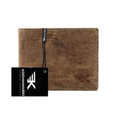 Portfele i portmonetki Kochmanski Studio Kreacji® Skórzany