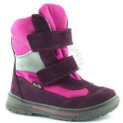 Śniegowce dla dzieci z membraną renbut 22-3216 - różowy ||fioletowy marki Ren but