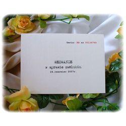 Zaproszenia ślubne Art-kart artkart.es24.pl