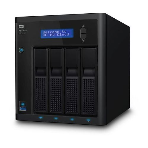 Serwer plików nas wd my cloud pr4100 16 tb ( wdbnfa0160kbk ) marki Western digital