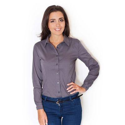 ea6956807a0295 bluzki damskie biale eleganckie koszulowe body z dlugim rekawem ...
