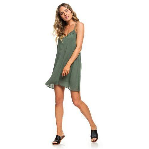 Sukienka - off we godress duck green (gpl0) marki Roxy