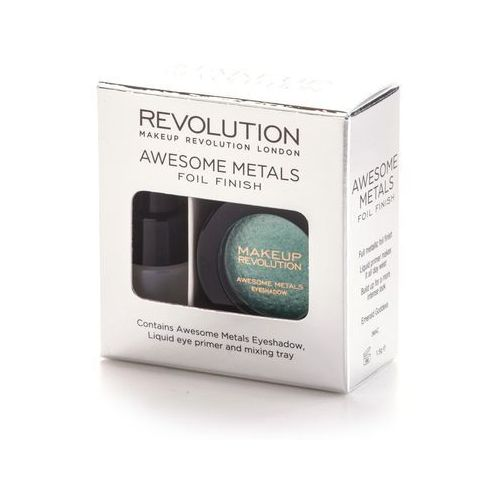 Awesome metals foil finish metaliczny cień do powiek emerald goddness 1,5g - Makeup revolution