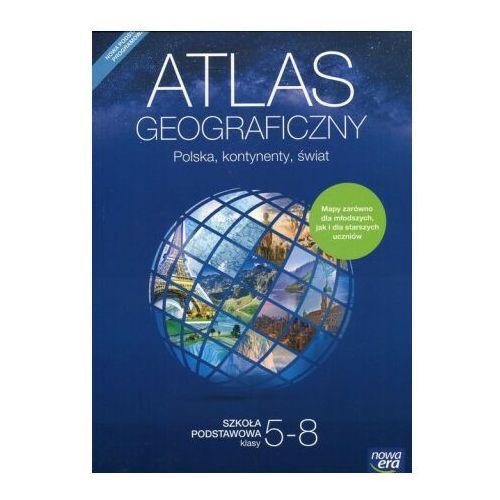 Atlas geograficzny 5-8 Polska, kontynenty, świat - Praca zbiorowa, praca zbiorowa