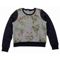 bluza BLEND SHE - Quilty Sweatshirt Dark Grey Melange (20044) rozmiar: M