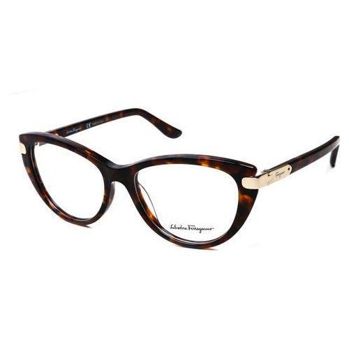 Salvatore ferragamo Okulary korekcyjne sf 2720 214