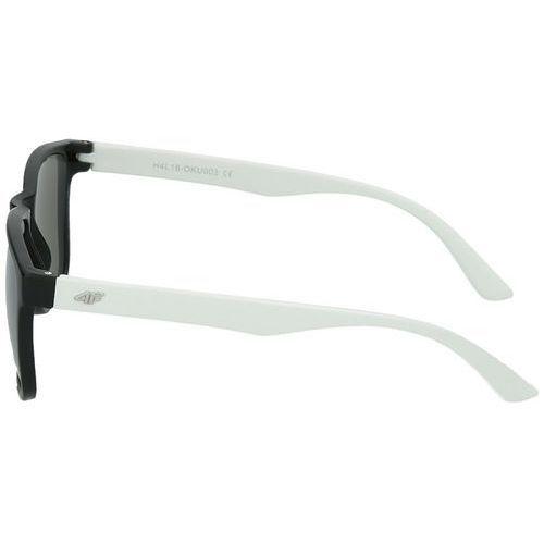 Okulary przeciwsłoneczne oku003 czarny   biały (4F)