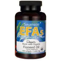 Kapsułki Swanson Flaxseed Oil Omega 3-6-9 1000mg 100 kaps.