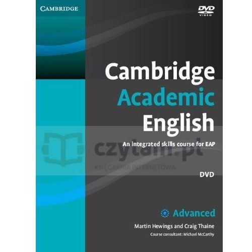 Cambridge university press Cambridge academic english c1 advanced dvd (płyta dvd) (9780521165310)