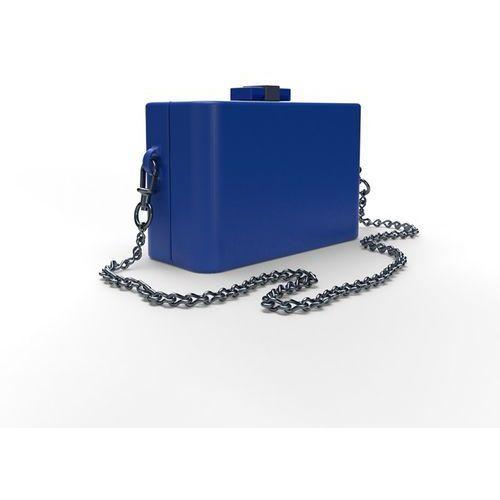 Torebka damska NanoCubie dark blue, kolor niebieski