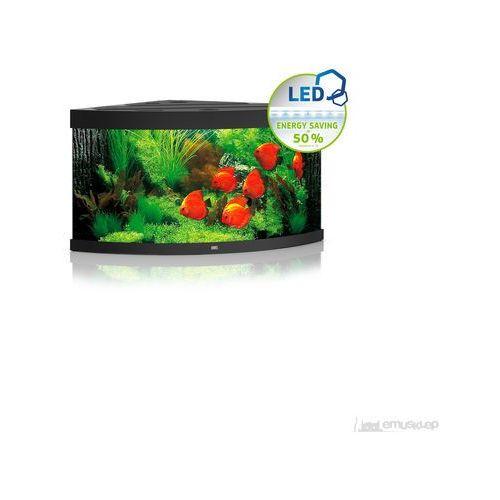 trigon 350 led akwarium narożne (bez szafki)*cena z transportem czarny marki Juwel