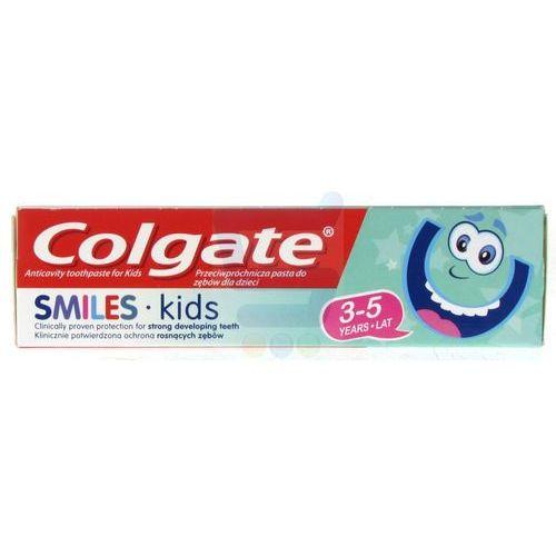 Pasta do zębów dla dzieci smiles kids (3-5 lat) 50ml Colgate