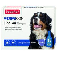 VERMICON Line-on Pies L powyżej 30kg (pipeta 3 x 4,5ml) - L powyżej 30kg (pipeta 3 x 4,5ml) (8711231119042)