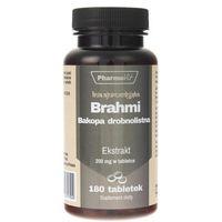Tabletki Brahmi - ekstrakt 4:1 180 tab - Pharmovit
