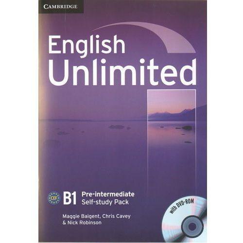 English Unlimited B1 pre-intermediate self-study pack