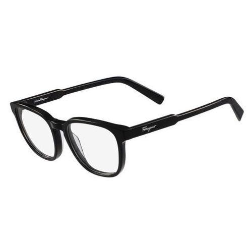 Salvatore ferragamo Okulary korekcyjne sf 2752 001