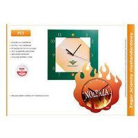 Zegar reklamowy na bazie PCV, kolor Zegar