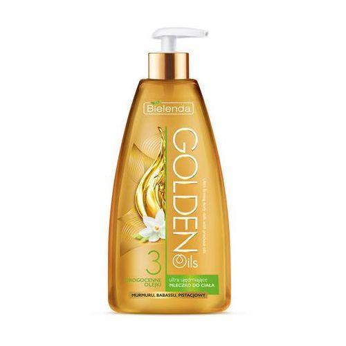 Bielenda golden oils ultra firming intensywne mleczko do ciała ujędrniający (babassu, passionflower, pistachio oils) 250 ml