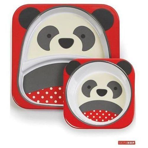 Zestaw do jedzenia ZOO - Panda