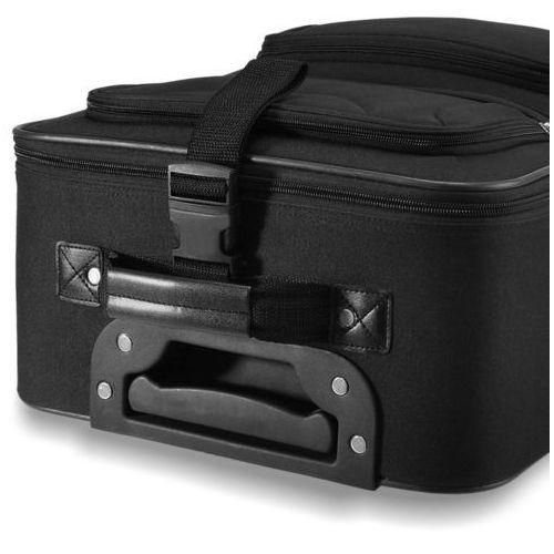 Wideshop Zestaw walizek z kosmetyczką