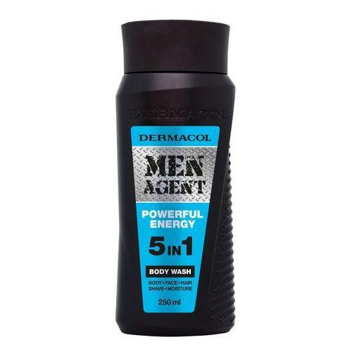 Dermacol men agent powerful energy 5in1 żel pod prysznic 250 ml dla mężczyzn - Promocyjna cena