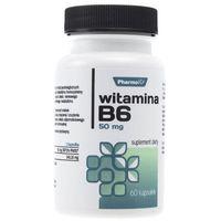 Kapsułki Pharmovit Witamina B6 50 mg - 60 kapsułek