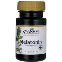 Kapsułki Swanson Melatonina 3mg 120 kaps