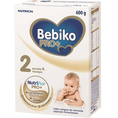 BEBIKO PRO+ 2 (600g) Mleko dla niemowląt po 6 miesiącu, 605988