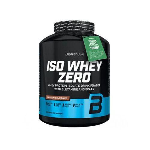 BioTech USA Iso Whey Zero - 2270g - Caffe Latte