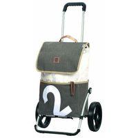 Andersen Shopper Royal Shopper 360° Wózek na zakupy 57 cm mole 2 ZAPISZ SIĘ DO NASZEGO NEWSLETTERA, A OTRZYMASZ VOUCHER Z 15% ZNIŻKĄ