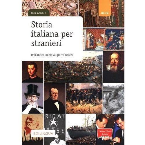 Storia italiana per stranieri b2-c2 - balboni paolo e., Paolo E. Balboni