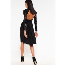 Vero Moda VMADRIAN Spódnica plisowana black, czarny w 5 rozmiarach