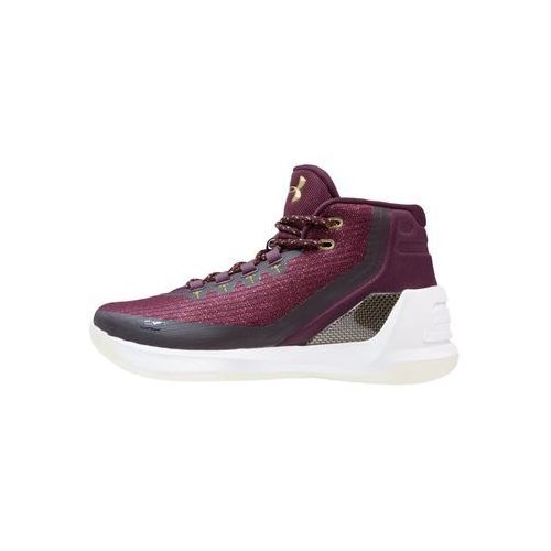 Under Armour CURRY 3 Obuwie do koszykówki systematic/white/mango