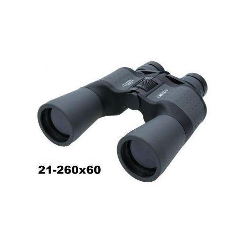 Oryginalna lornetka mega zoom 21-260x60 + mocowanie statywowe + pokrowiec i akcesoria. marki Comet