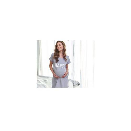 bcb3d0524502cc Koszula nocna ciążowa i do karmienia happy mommy - grey (DN - Doctor ...