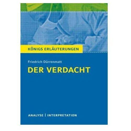 Der Verdacht von Friedrich Dürrenmatt Matzkowski, Bernd