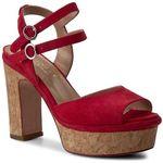 Sandały TWINSET - Sandalo CS7TXN Ciliegia 00034