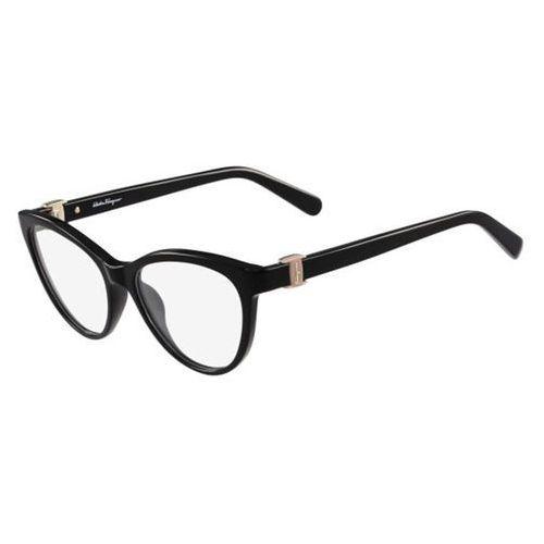 Salvatore ferragamo Okulary korekcyjne sf 2761 001