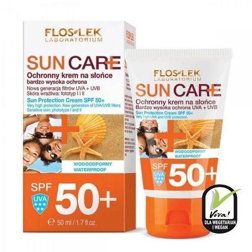 Floslek sun care ochronny krem na słońce spf 50+ bardzo wysoka ochrona uva/uvb Flos-lek - Znakomita obniżka