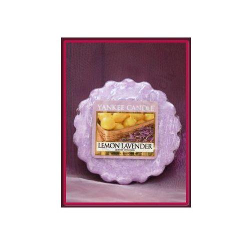 Cytrynowa lawenda (lemon lavender) - wosk zapachowy marki Yankee candle