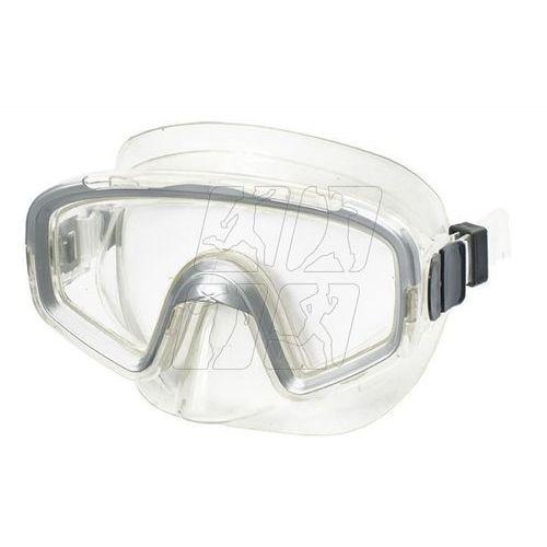Maska do nurkowania Allright Nestia Senior szara, SPMNESS