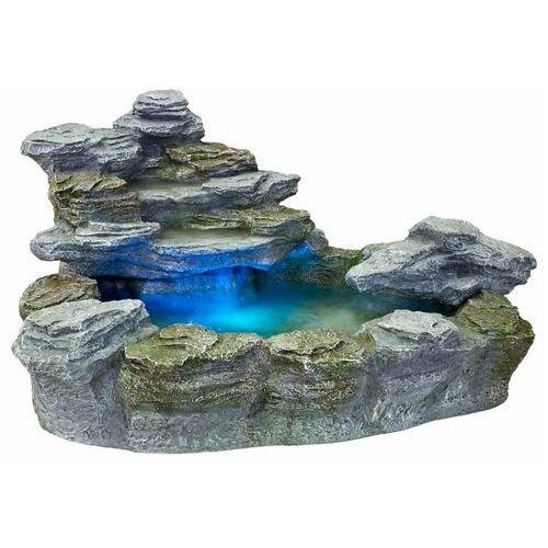 Stilista ® Kaskada fontanna ogrodowa olymp 5 kolorów światła