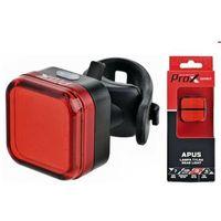 Lampa tylna /akumulator/ PROX APUS COB LED 40lm USB czerwona na sztycę