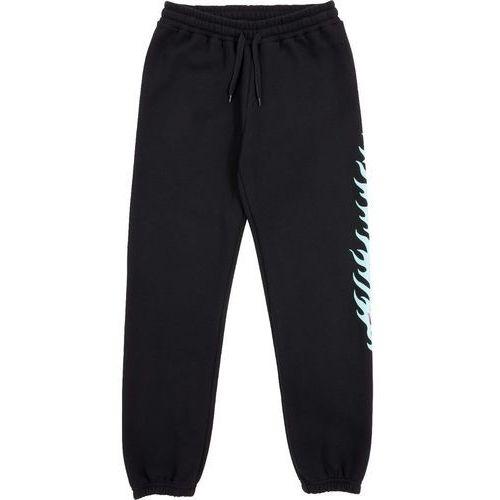 Spodnie dresowe - flame dot sweatpant black (black), Santa cruz