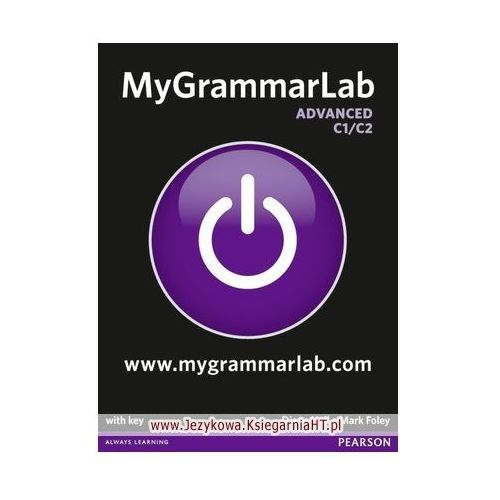 MyGrammarLab Advanced, Student&#39s Book (podręcznik) plus MyLab for self study (9781408299111)
